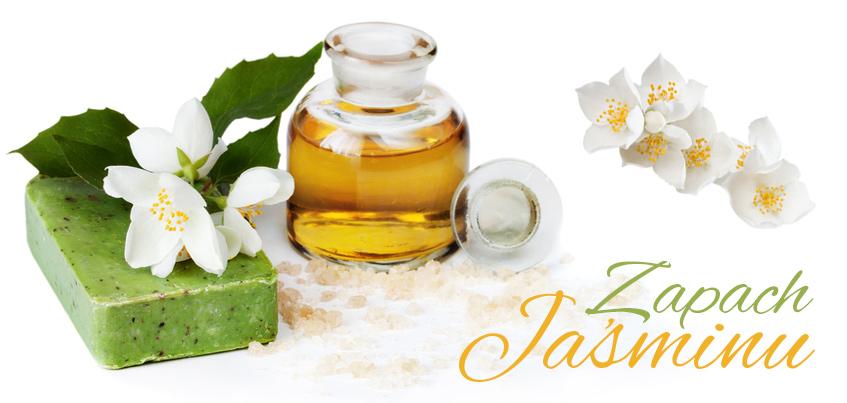 Zapach Jaśminu - Buteleczka z olejkiem jasminowym , mydło jasminowe i kwiaty jaśminu