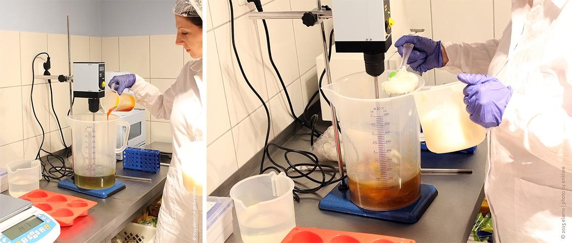 przygotowanie fazy olejowej
