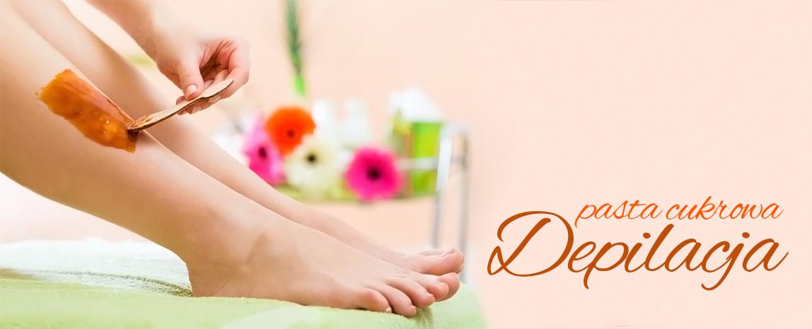 depilacja pastą cukrową nóg