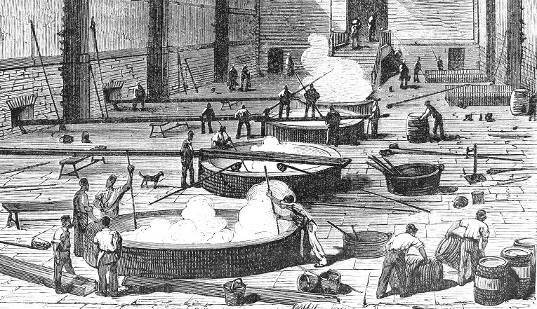 historia mydła - tradycyjne mydło w kadziach w marsylii