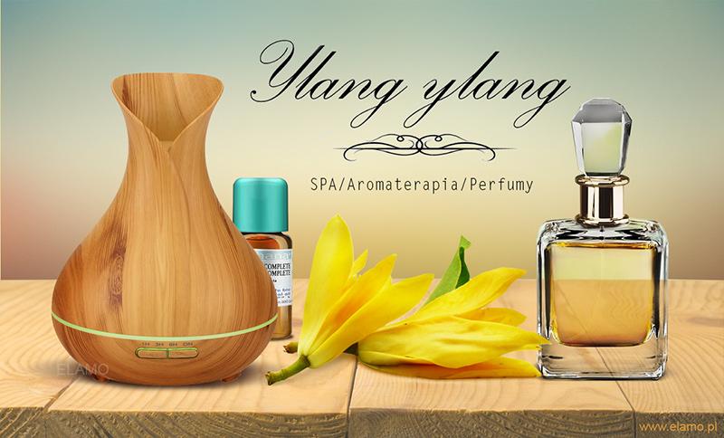 zastosowania olejku ylang w aromaterapii i perfumiarstwie