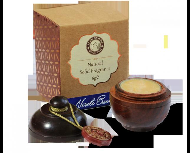 Perfumy NEROLI (Neroli Essence) w szkatułce z drzewa różanego