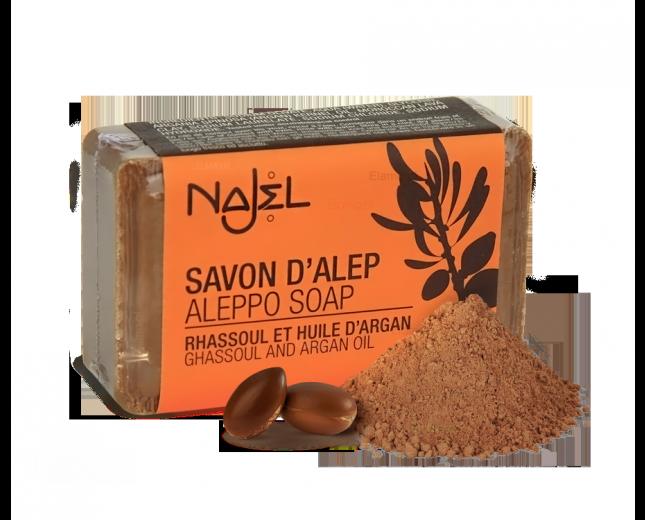 Mydło ALEPPO z glinką Rhassolul NAJEL