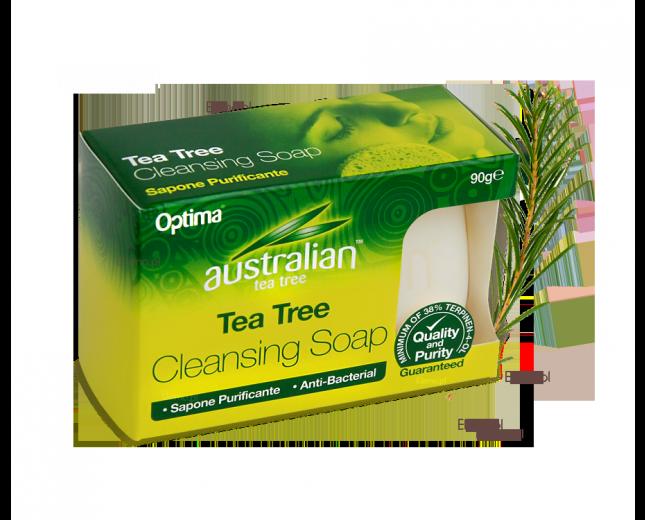 mydło antybakteryjne z olejem z drzewa herbacianego