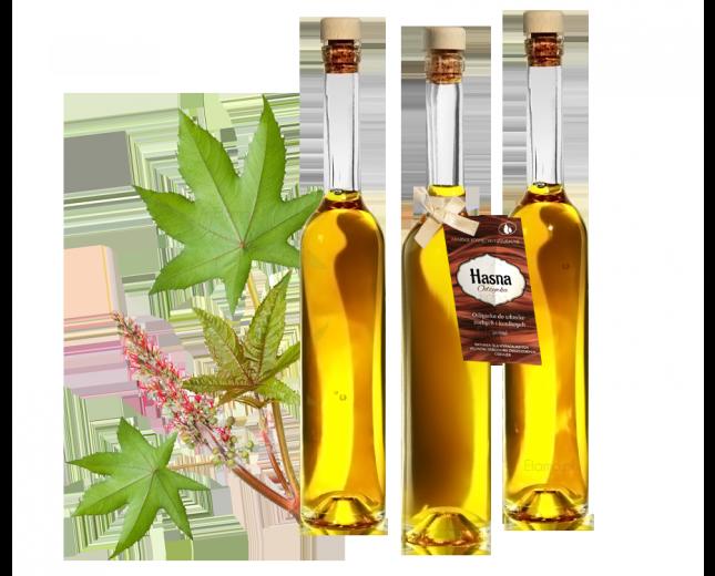 odżywka do włosów z olejem rycynowym