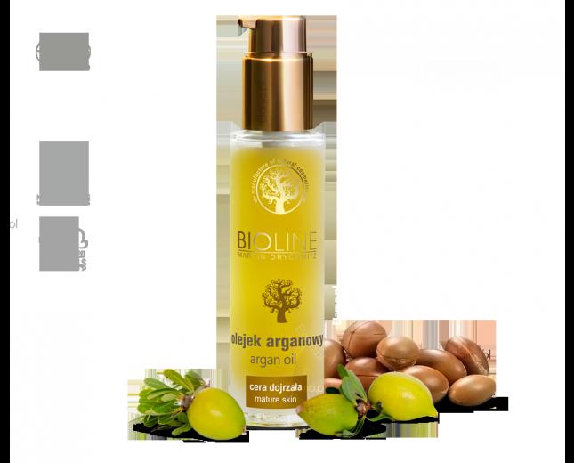 olej arganowy kosmetyczny zimnotłoczony z certyfikatem ECOCERT, USDA, EACCE