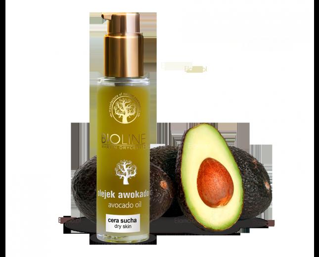 olej avocado zimno tłoczony z certyfikatem organiczności