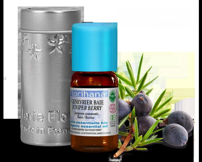 olejek jałowcowy z jagód Juniperus Communis FLORIHANA
