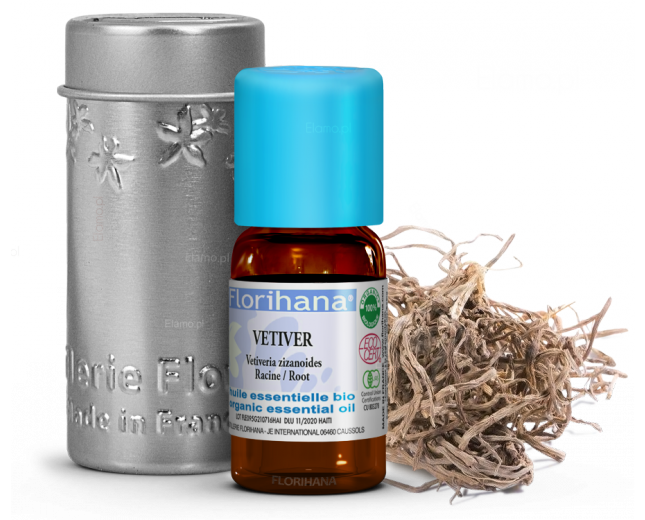 olejek weriwerowy z kłącz i korzeni wetiwerii pachnącej