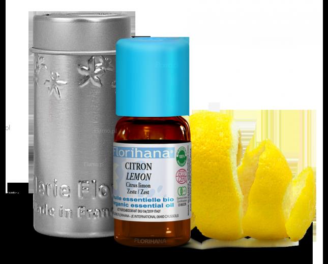 olejek cytrynowy ze skórki Citrus Limon Florihana