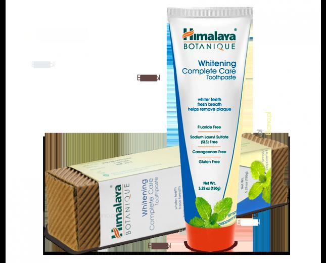 Wybielająca pasta do zębów o smaku mięty Himalaya Botanique Whitening Complete care PEPPERMINT