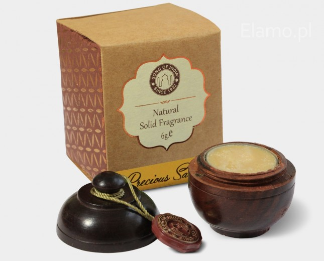 Perfumy w kamieniu Sandałowiec 6g Song of India