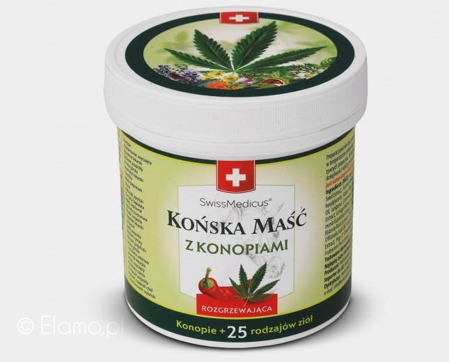 Końska Maść Konopna Rozgrzewająca SwissMedicus 250/500ml