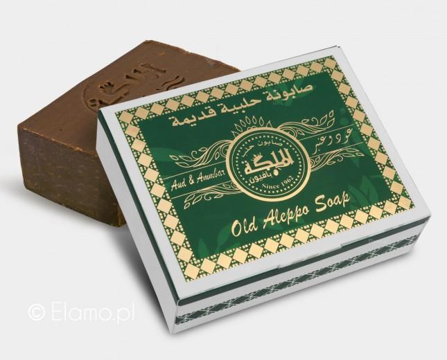 mydło Aleppo Oud Amber