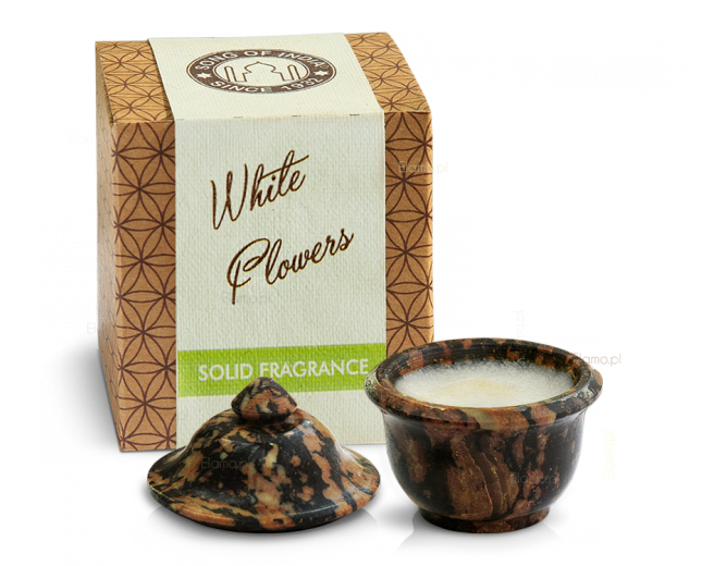 Perfumy w kremie WHITE FLOWERS (Białe Kwiaty) - Song of India 6gr