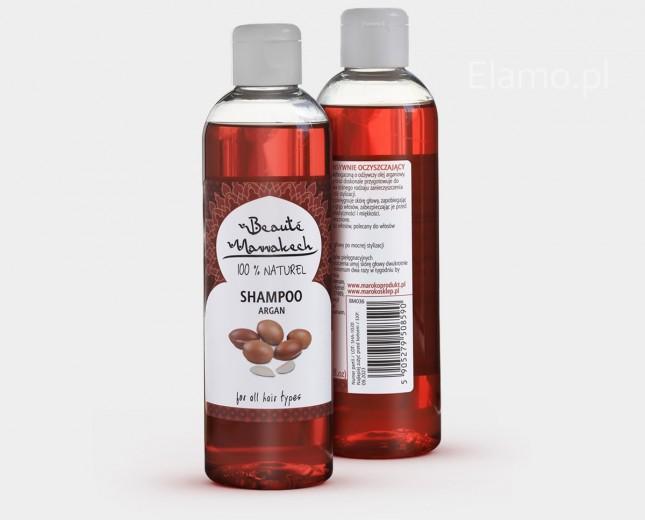 Szampon z olejem arganowym intensywnie oczyszczający 250ml Beaute Marrakech