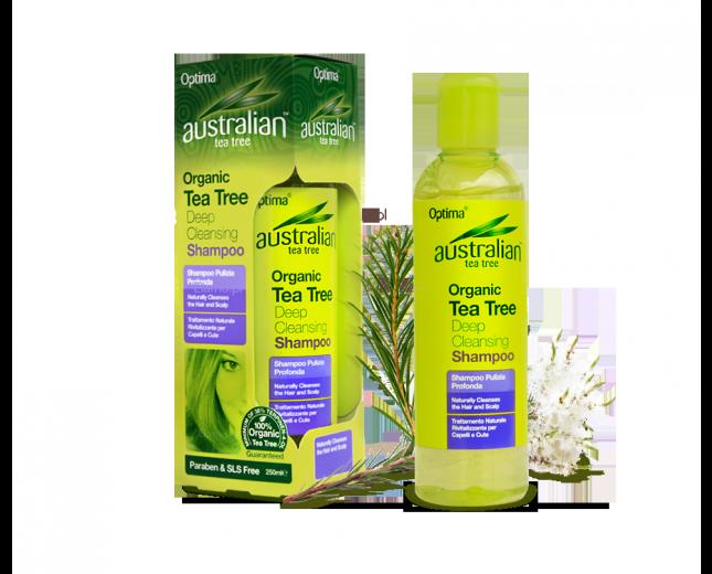 Oczyszczający Szampon z oleju liści drzewa herbacianego Australian Tea Tree