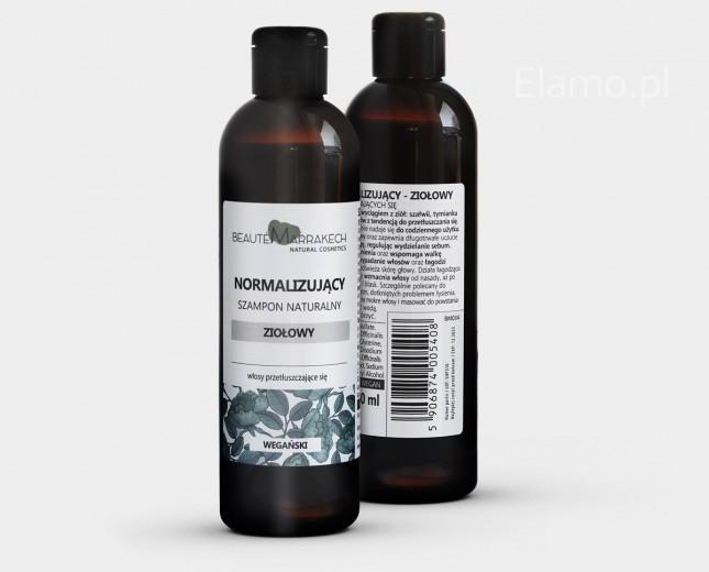szampon ziołowy z tymiankiem, rozmarynem i szałwią Beaute Marrakech 250ml