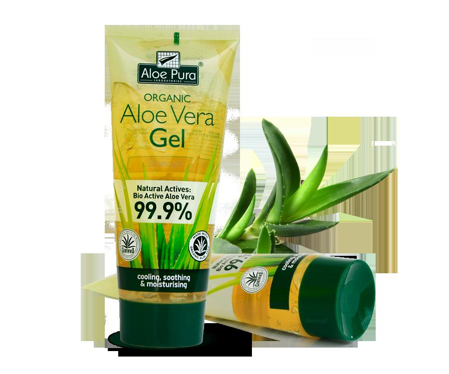 Żel Aloesowy 99 9 Organic Aloe Vera Do Twarzy Ciała Włos 243 W