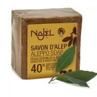 mydło oliwkowo laurowe aleppo 40%