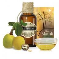 Olej Marula (Sclerocarya Birrea Seed Oil) w  50ml butelce z ciemnego szkła z kroplomierzem