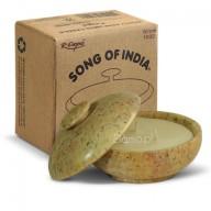 Świeca zapachowa SANDAŁOWIEC w kamieniu - Song of India