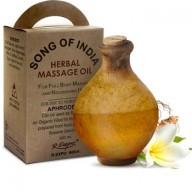 olejek aphrodesia do masażu o romantycznej kompozycji zapachowej. Bukłak z wielbłądziej skóry.