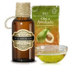 olej awokado z miąższu owocu