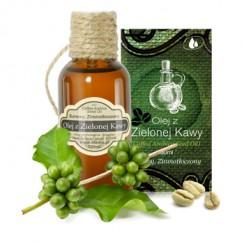 olej z zielonej kawy