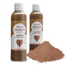 szampon oczyszczający z glinką rhassoul i olejem arganowym