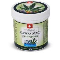 Końska Maść Konopna Chłodząca SwissMedicus 250/500ml
