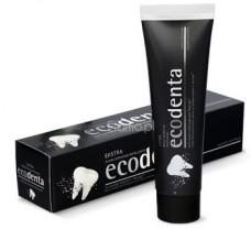 Czarna Pasta do Zębów z Węglem Drzewnym wybielająca Ecodenta 100ml