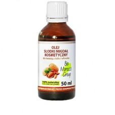 Olej ze Słodkich Migdałów - Doskonałe nawilżenie 50 ml