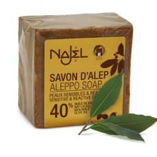 Mydło Aleppo 40% oliwkowo-laurowe 180g  Najel