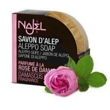 Mydło Róża Damasceńska ALEPPO Najel 100g