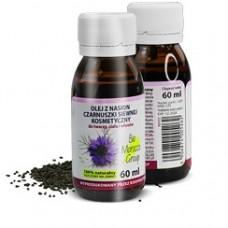 Olej z Czarnuszki Zimnotłoczony Kosmetyczny BIO MOROCCO 60ml