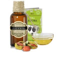 Olej Jojoba BIO (Złoty) Ekologiczny - Uniwersalny do każdej skóry 50 ml