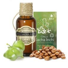 Olej Sacha Inchi BIO - najlepsza regeneracja skóry 50 ml