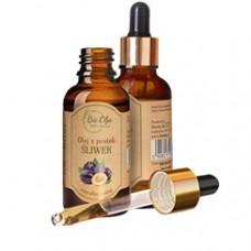 Olej z pestek śliwki BioOlja 50ml - Do skóry Tłustej i Zanieczyszczonej