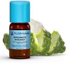 Olejek Bergamotowy (Citrus bergamia) 100% Organiczny FLORIHANA