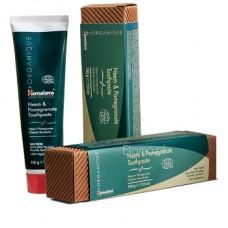 Organiczna pasta do zębów Neem & Granat  Himalaya Organique 150g ECOCERT