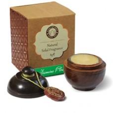 Perfumy JAŚMIN (Jasmine Flower) w szkatułce z drzewa różanego Song of India 6g