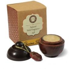 Perfumy SANDAŁOWIEC w szkatułce z drzewa różanego Song of India 6g