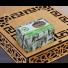 Mydło Aleppo Laurowe 50% x6 w drewnianej skrzyneczce Pafion Queen Syria