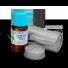 olejek z kopru włoskiego o jakości terapeutycznej w szklanej butelce amber i metalowym opakowaniu ochronnym