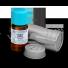 eteryczny olejek z mirry w buteleczce i i metalowym opakowaniu zabezpieczającym