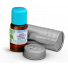 olejek labdanowy cistusowy z w buteleczce i pojemniku ochronnym