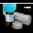 naturalny olejek eteryczny sosnowy w buteleczce i opakowaniu metalowym chroniacym od światła