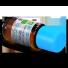 buteleczka z etykietą olejku eterycznego z kwiatów ylang ylang